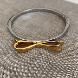 Kate Spade Bow Bracelet silver/gold